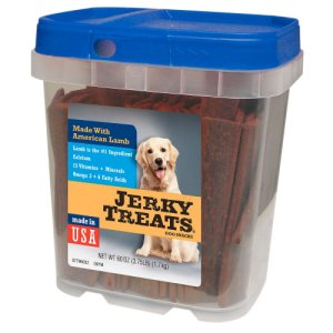 Jerky Treats Lamb Jerky Dog Treat Snacks 3.75 Lb Tub
