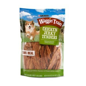 Purina Waggin Train Chicken Jerky Dog Treats 36 oz Bag