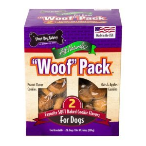 Three Dog Bakery Woof Pack Dog Treats 4 lbs