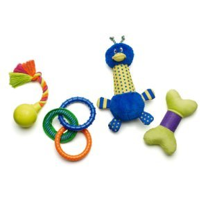 Zany Bunch Dog Toys 4 Pack
