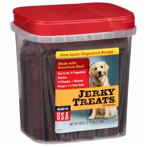 Jerky Treats Beef Jerky Dog Treats 3.75 Lb Tub