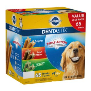 Pedigree Dentastix Variety Pack 65 Count