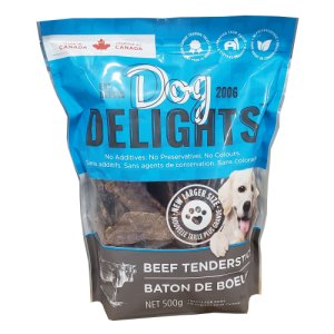 Dog Delights Beef TenderSticks 500 gram Bag