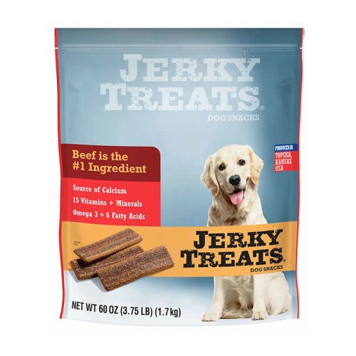 Jerky Treats Beef Jerky Dog Treats 3.75 Lb Bag - Click Image to Close