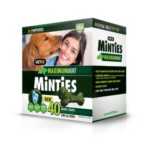 Vet IQ Minties Dental Treats 40 Count