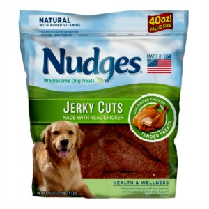 Nudges Chicken Jerky Cuts 40 oz Bag